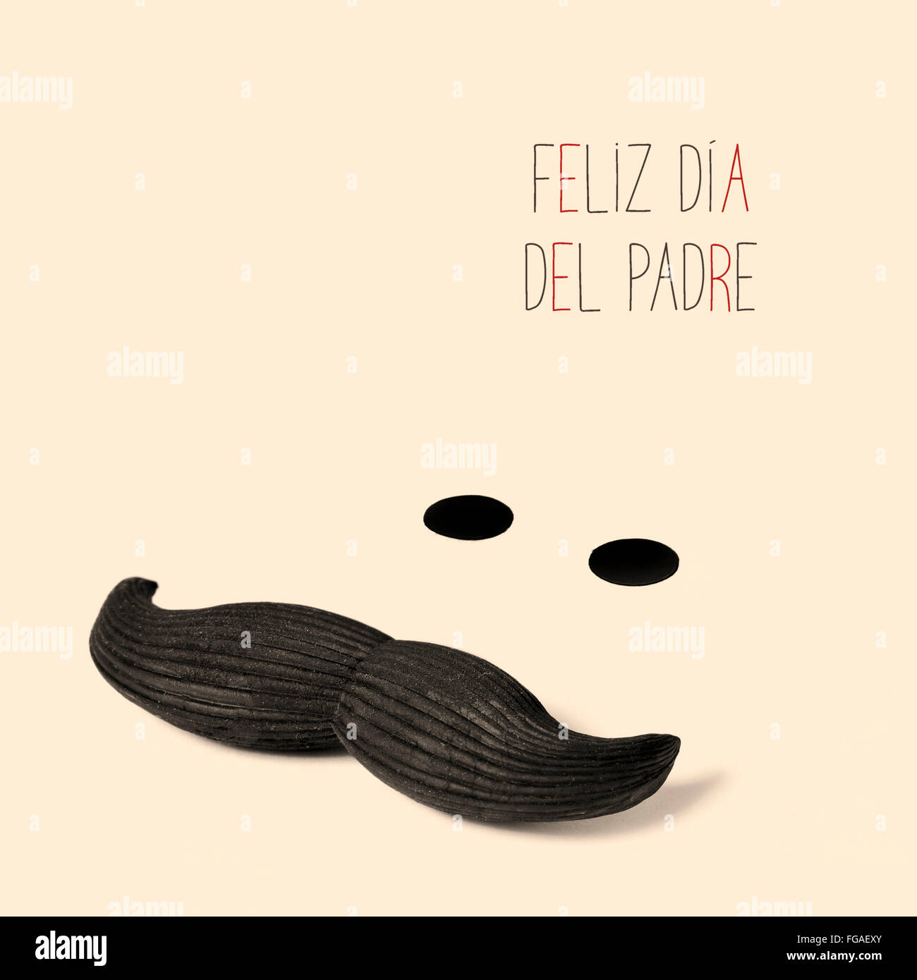 the sentence feliz dia del padre happy fathers day in spanish and