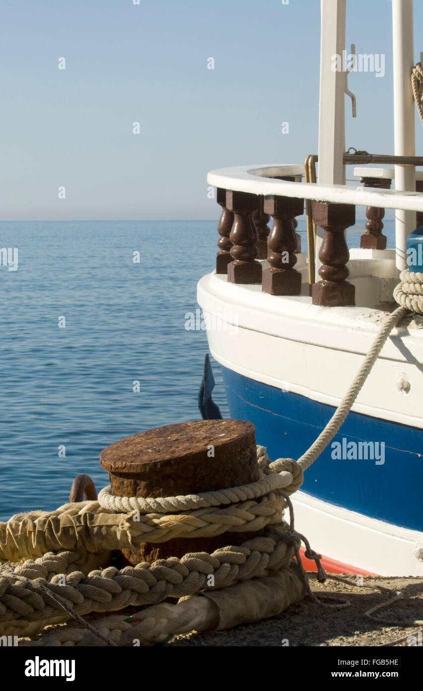 Griechenland, Kreta, Paleochora, Fähre nach Gavdos. - Stock Image