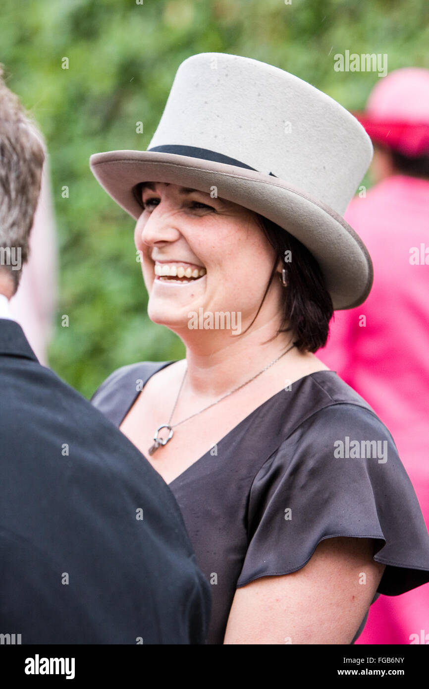 Horse Wearing Hat Funny Stock Photos   Horse Wearing Hat Funny Stock ... 7250a9f93395