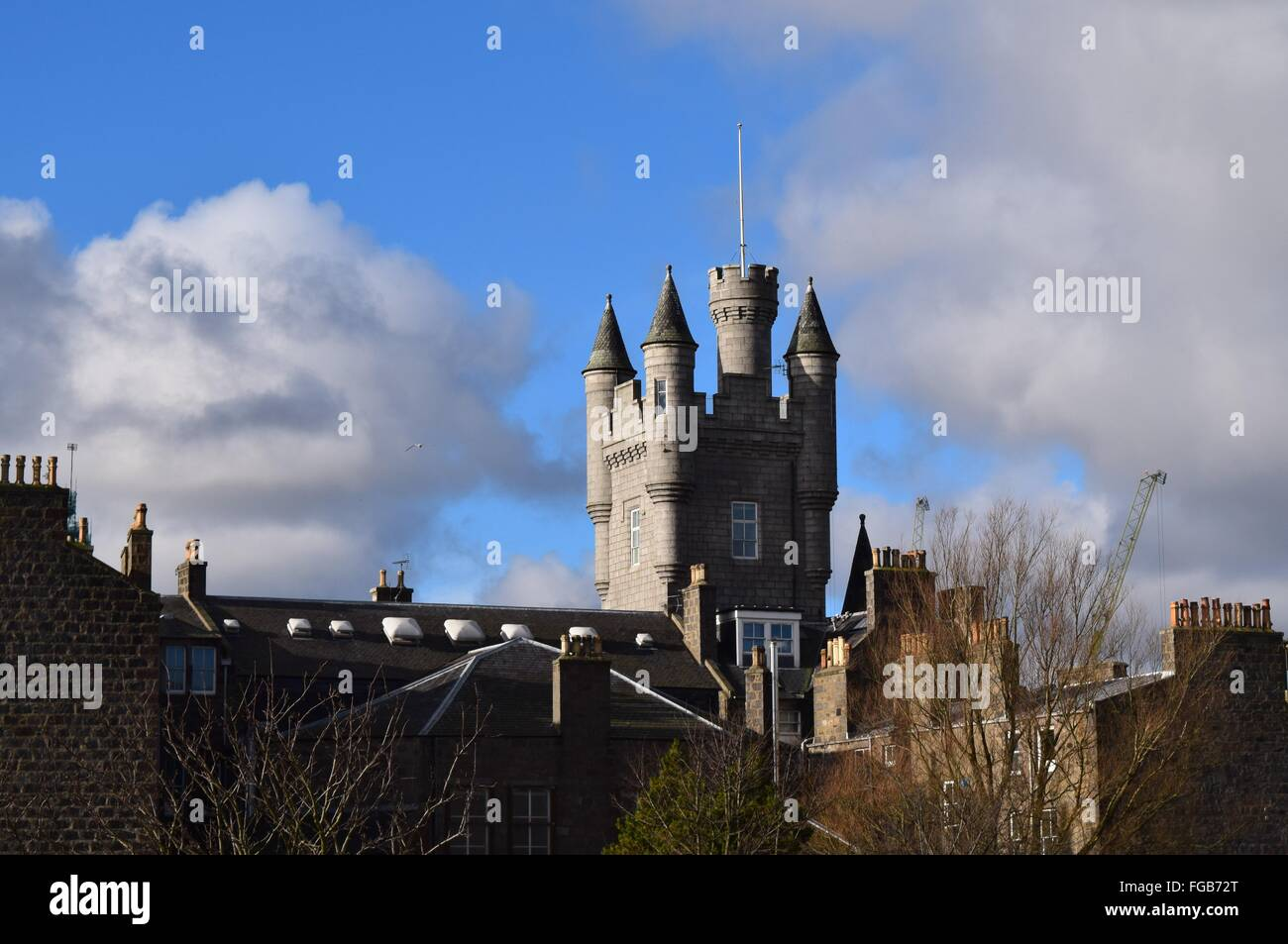 The Citadel, Aberdeen city centre - Stock Image