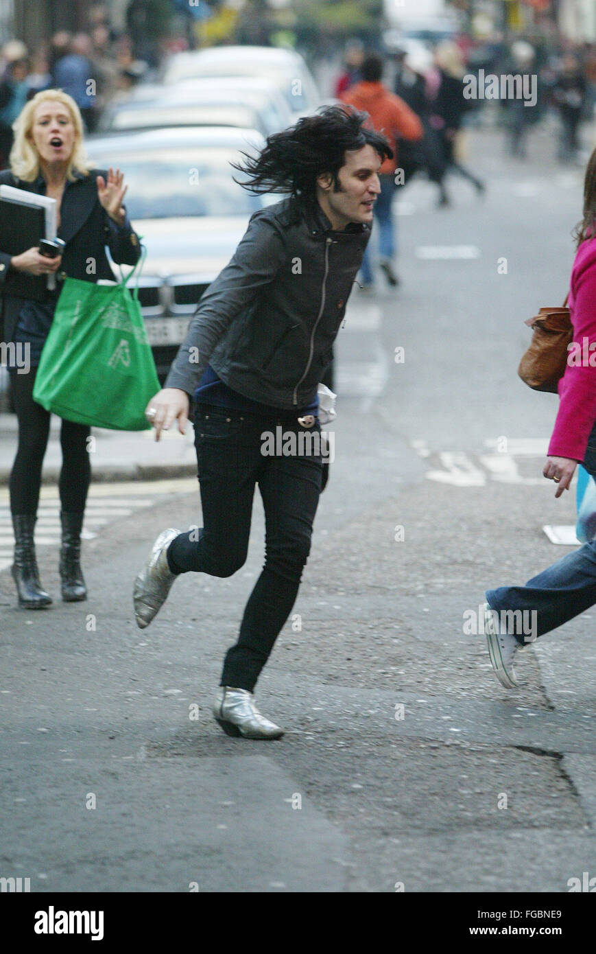 Noel Fielding  Soho London (credit image © Jack Ludlam) - Stock Image