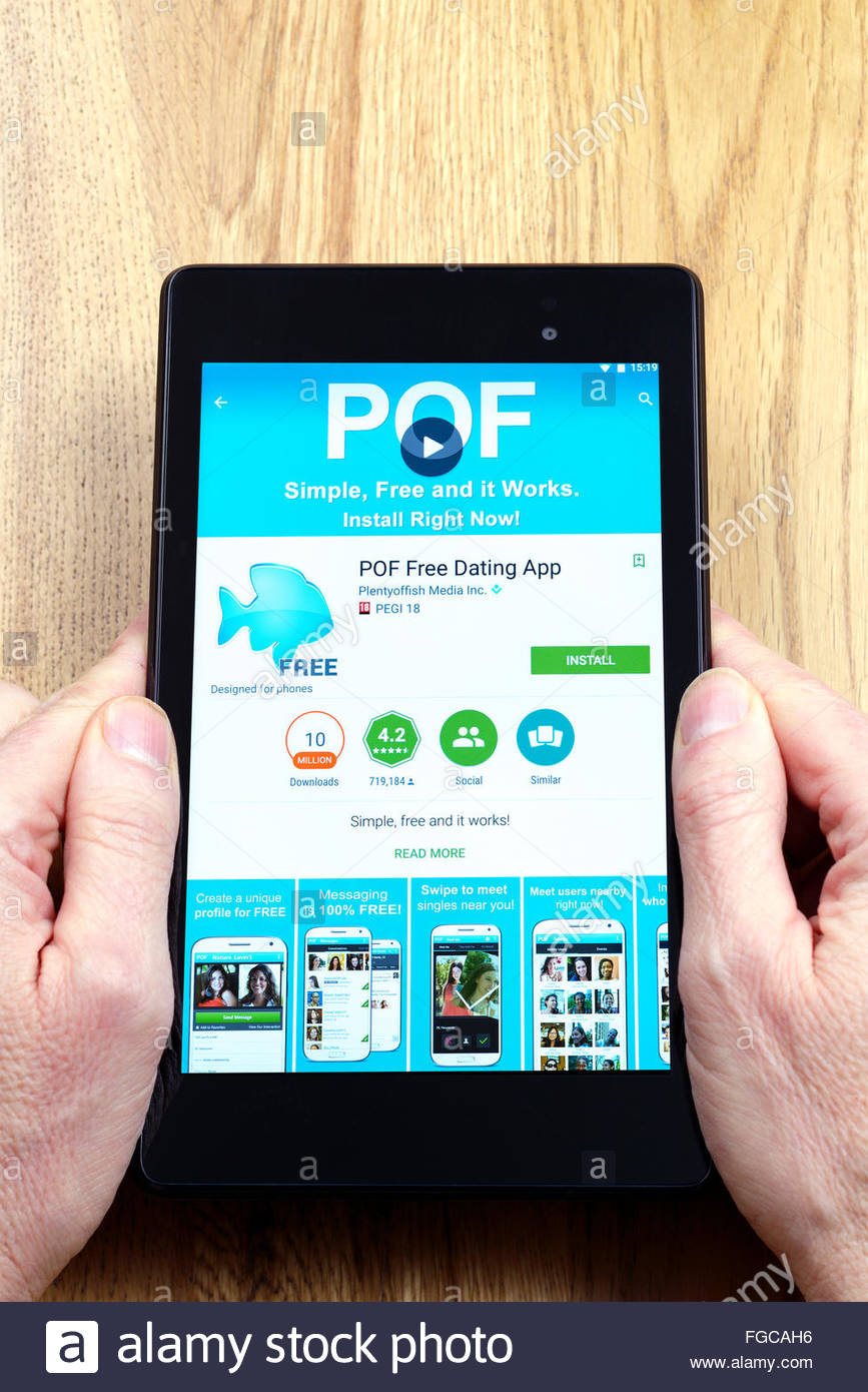 pof dating mobile app