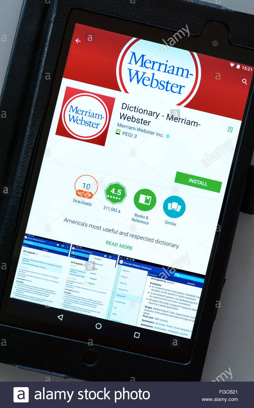merriam webster for pc download
