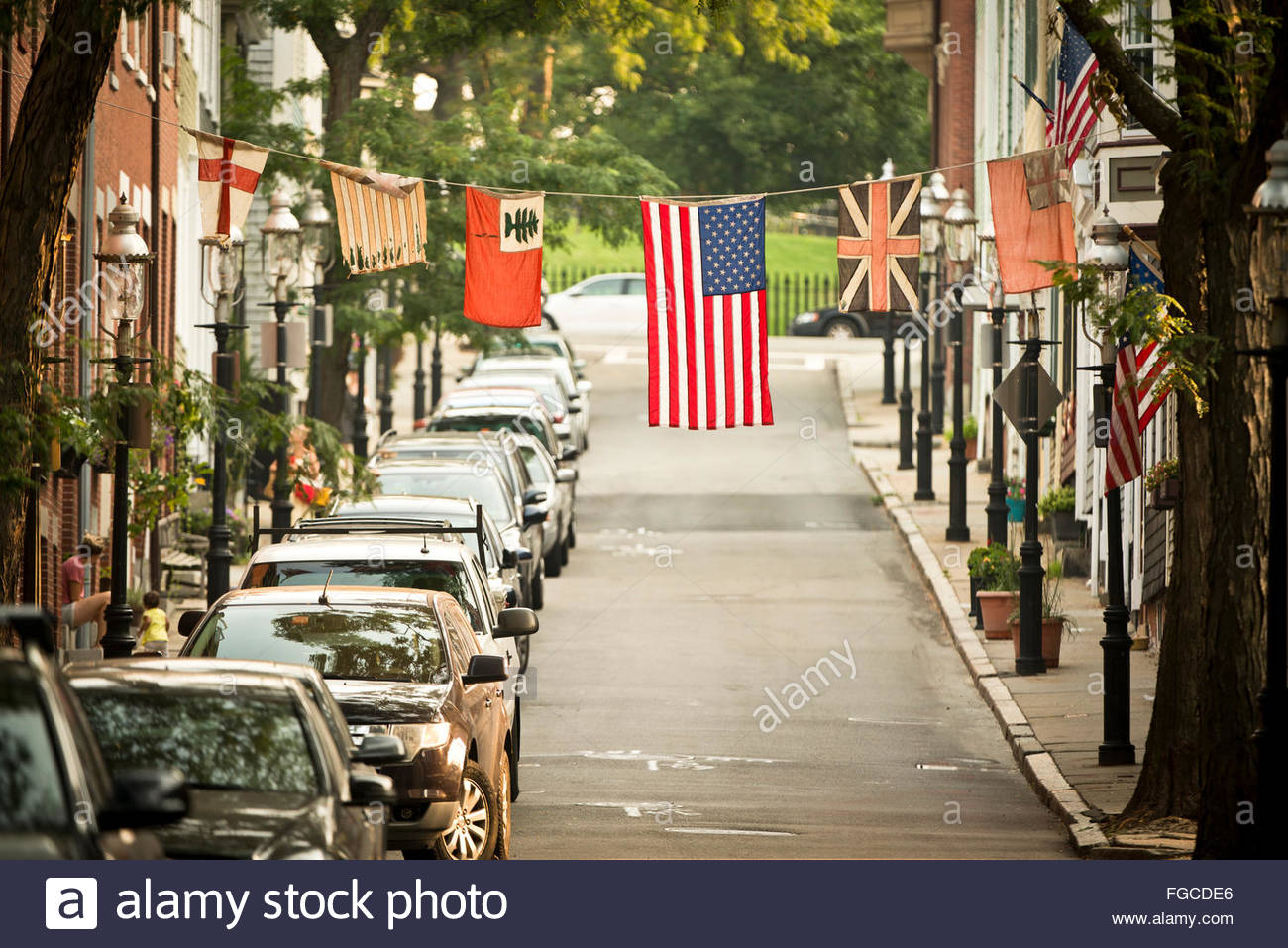 Charlestown, Massachusetts. - Stock Image