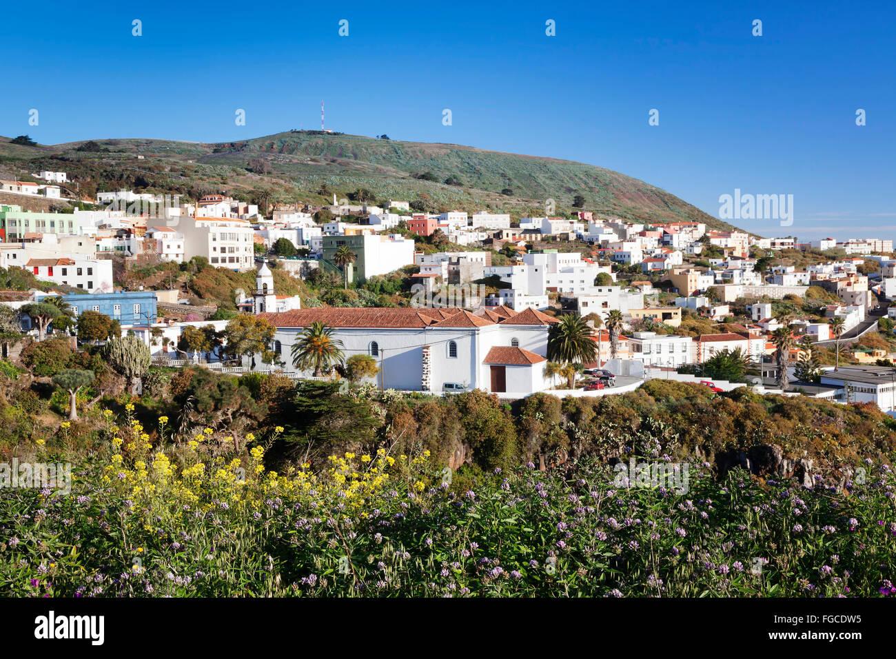 Valverde, El Hierro, Canary Islands, Spain Stock Photo