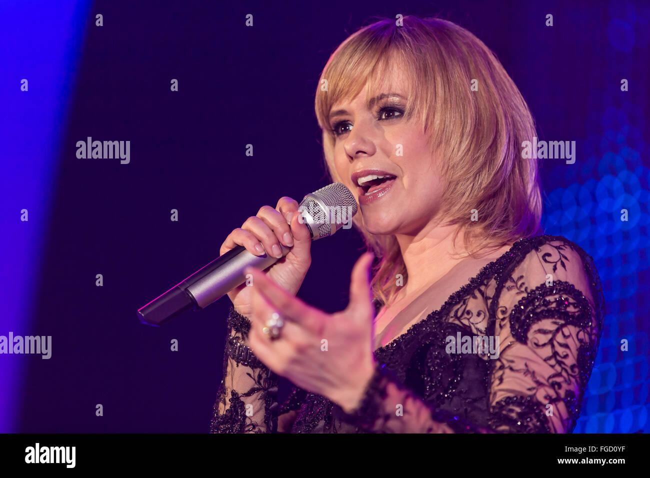 Francine Jordi - Stock Image