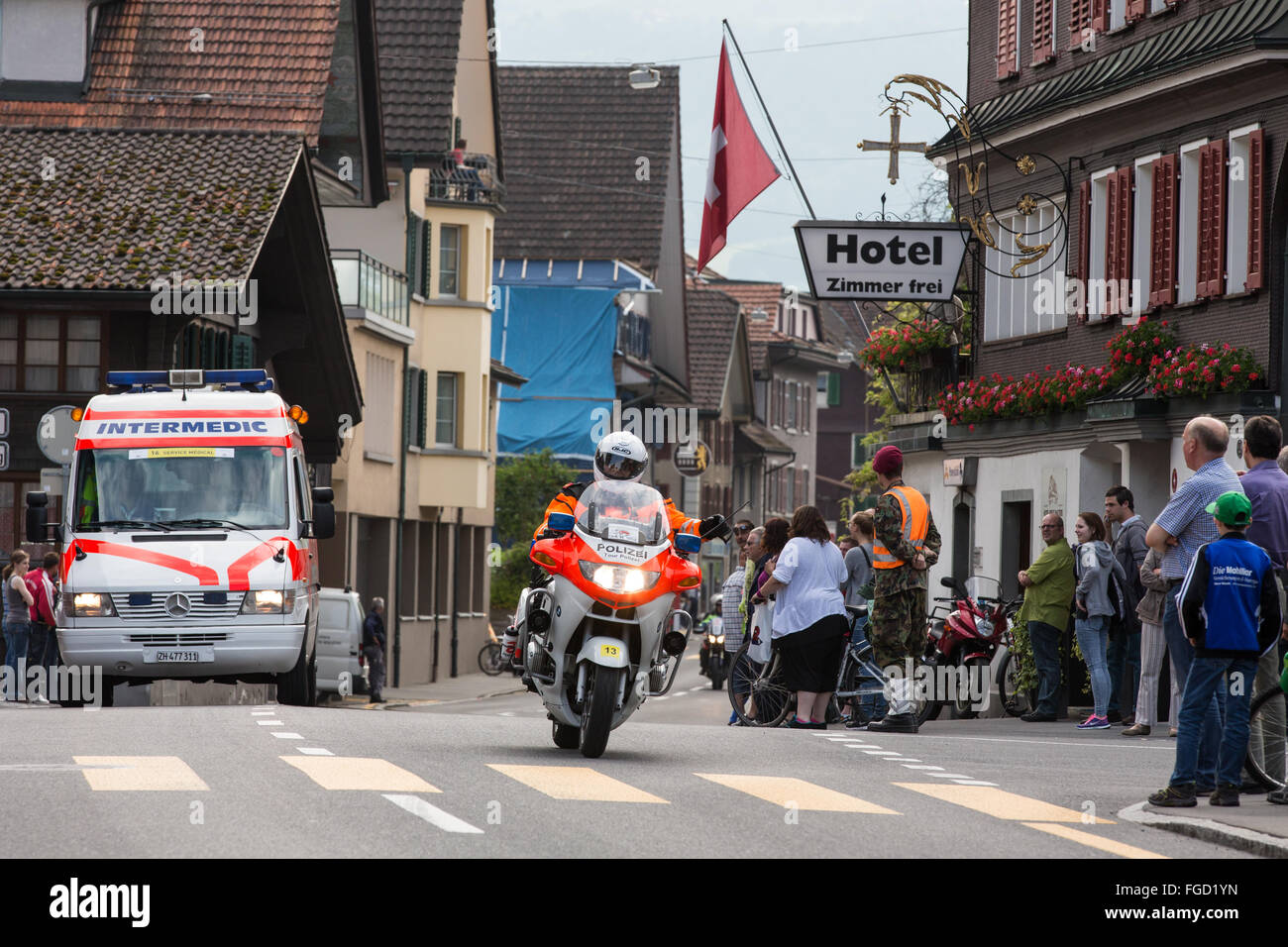 Tour de Suisse - Stock Image