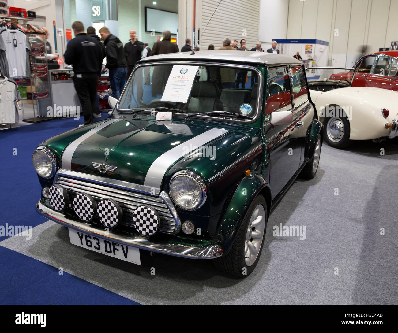 ExCel London,UK,18th February 2016,2001 Mini Cooper Sport