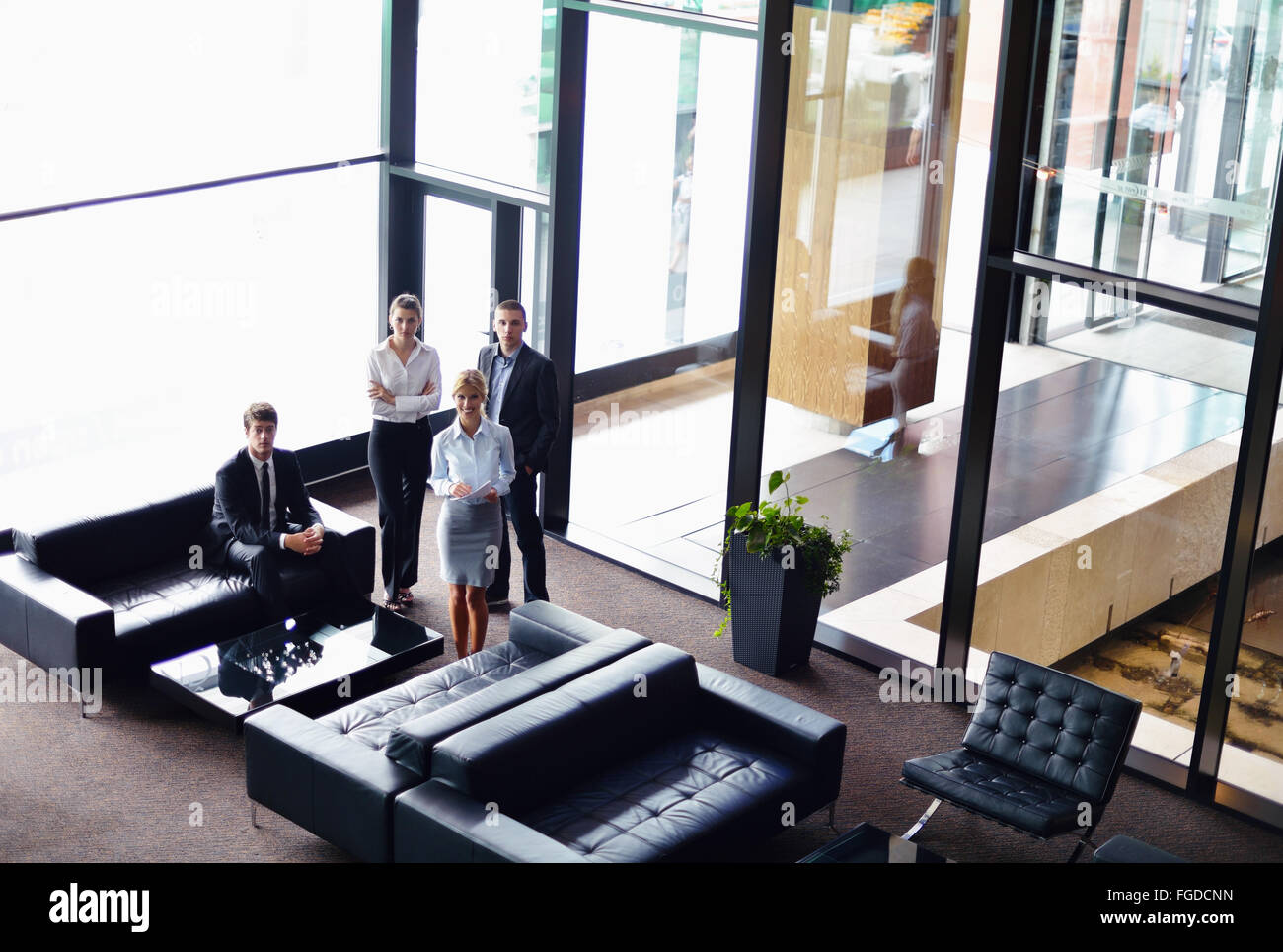 business people group - Stock Image