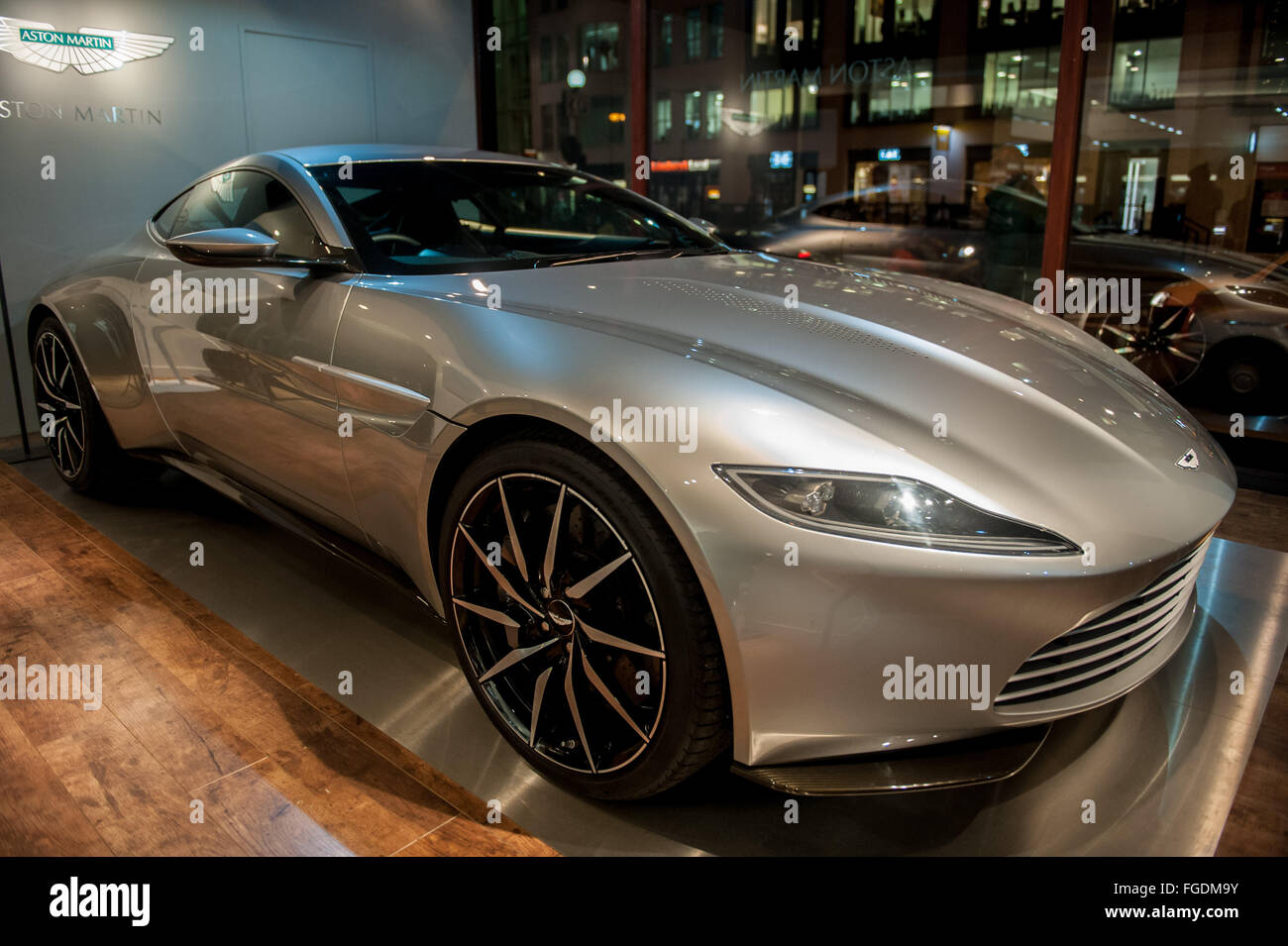 Three Aston Martin Sports Cars Including The Db5 From