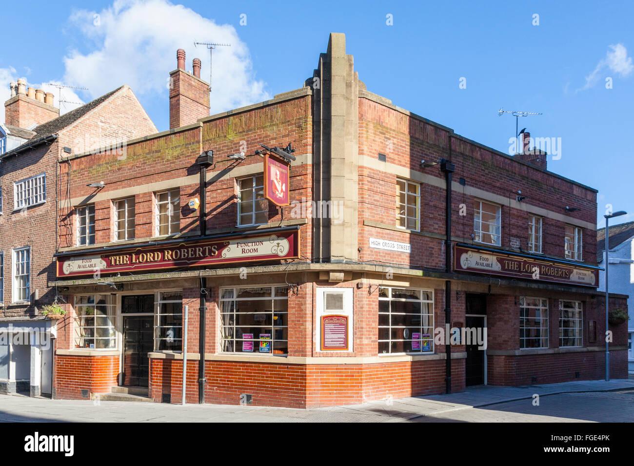 Lord Roberts pub, Nottingham, England, UK - Stock Image