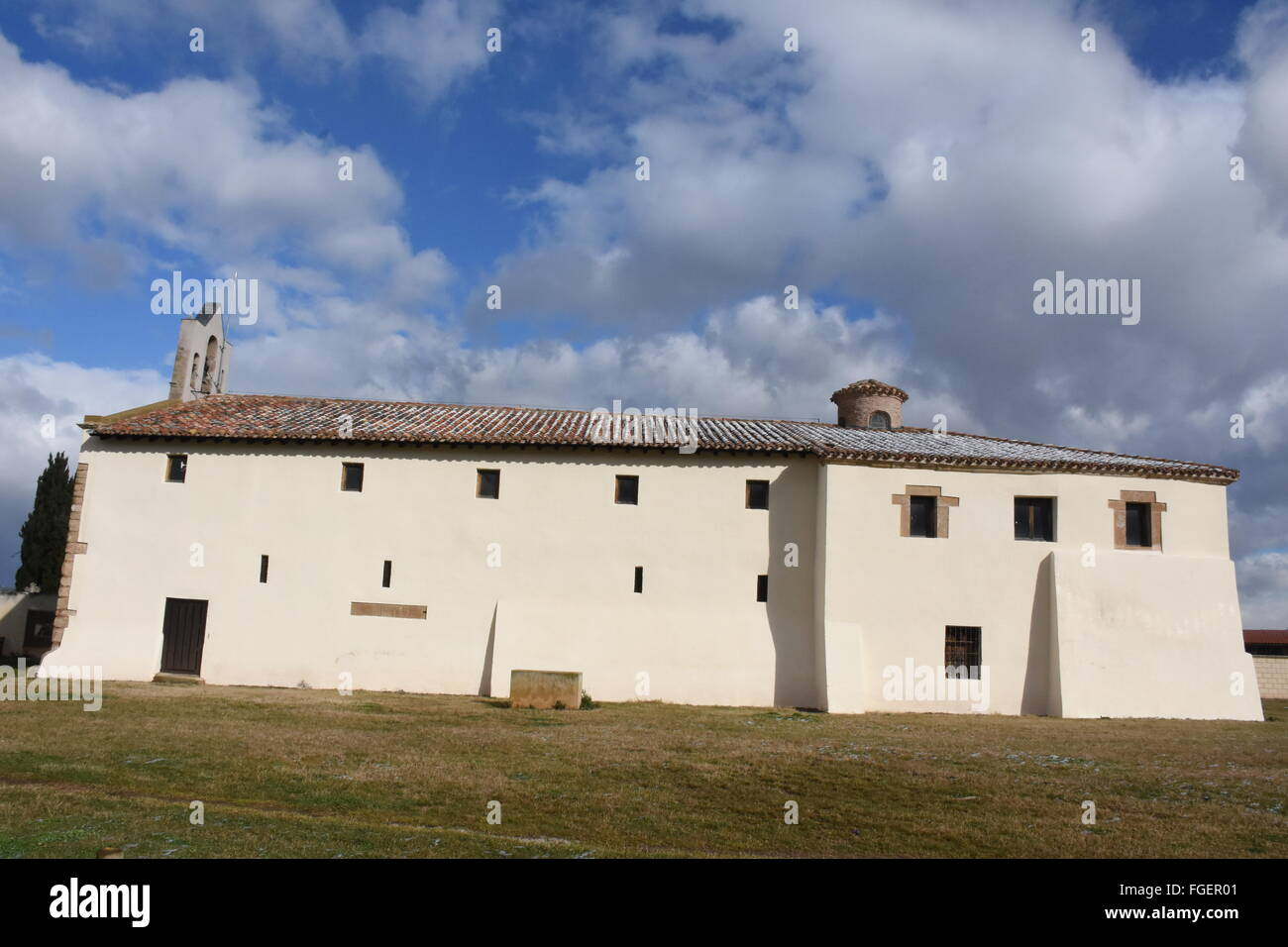 Tricio church La Rioja Spain - Stock Image
