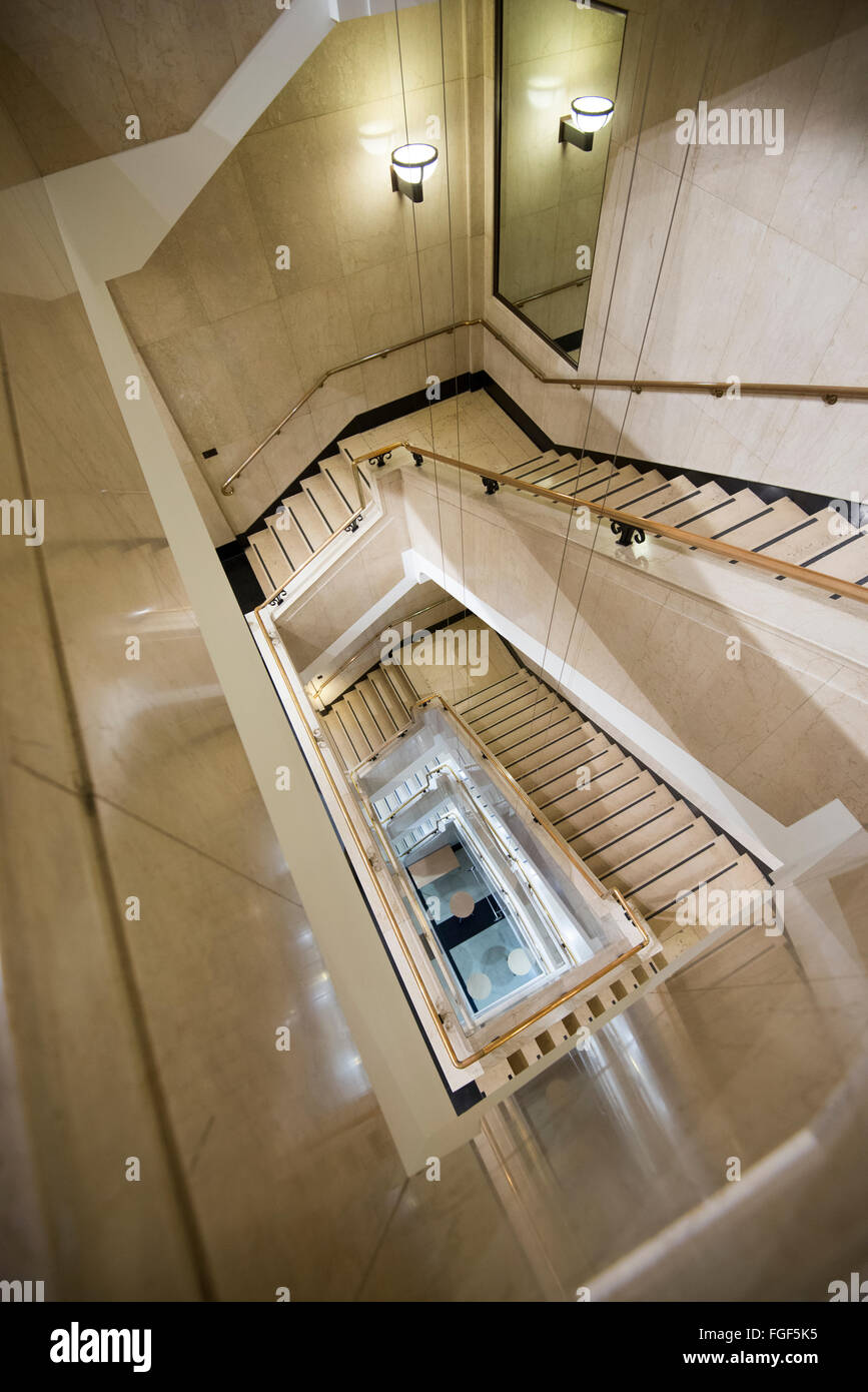 Staircase Inside The Building That Houses The Wellcome Collection