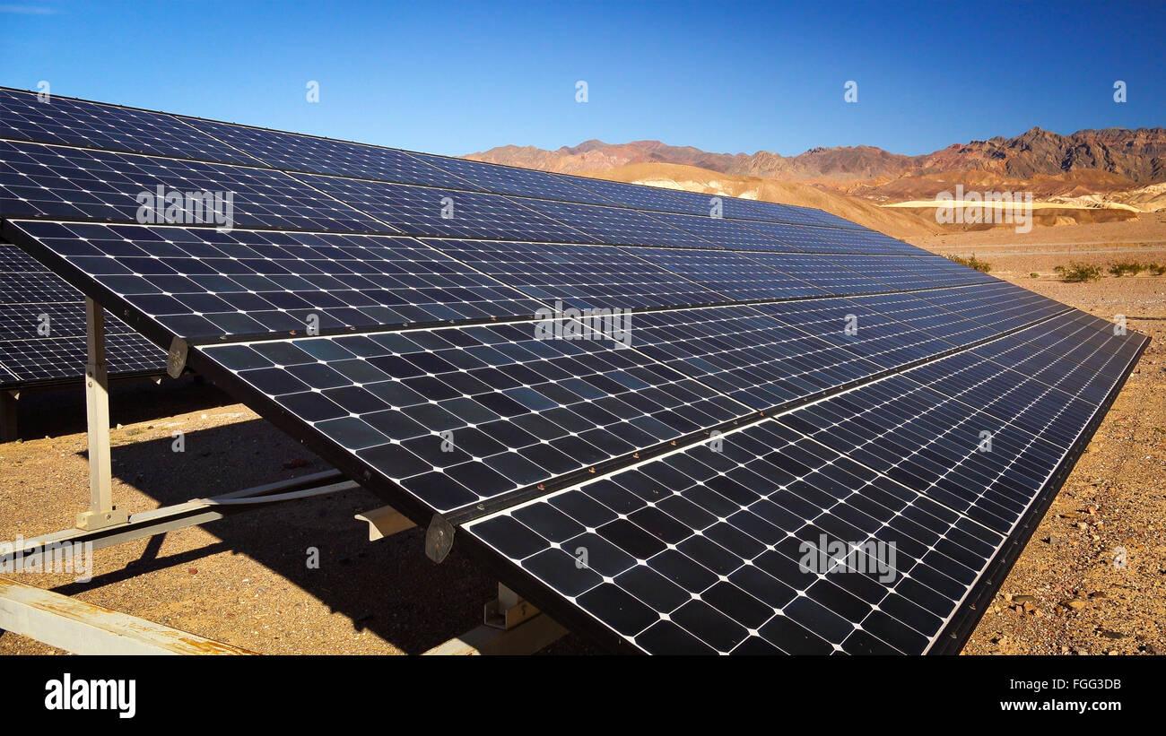 Energy Environmentally Friendly Panels Stock Photos