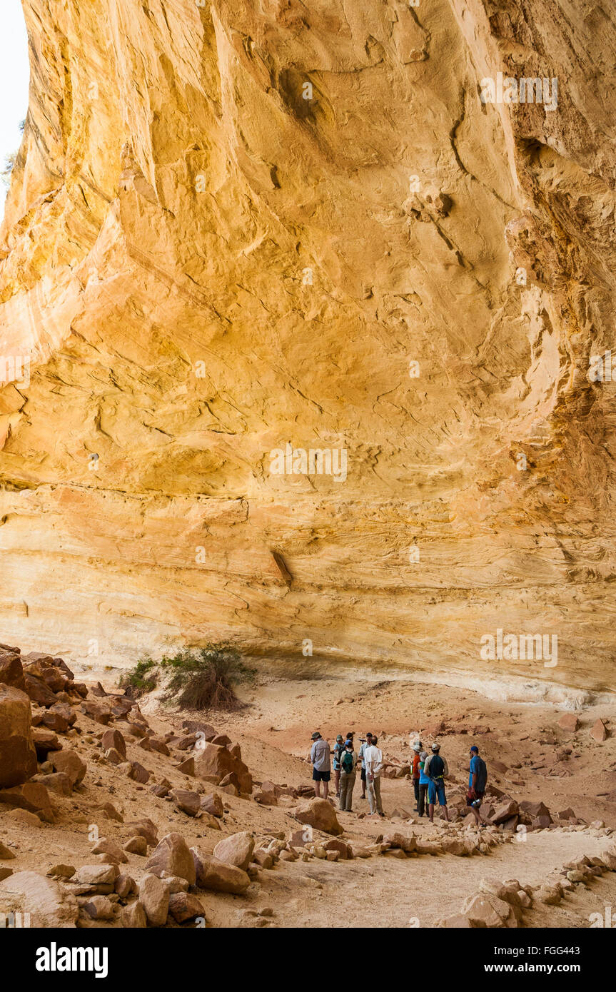 Mantle Cave, Yampa River Canyon, Dinosaur National Monument, Colorado. - Stock Image