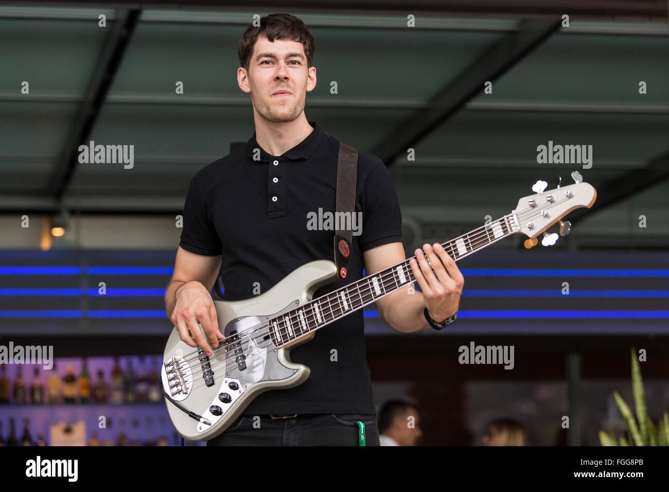 Gabriel Wenger Trio Stock Photo
