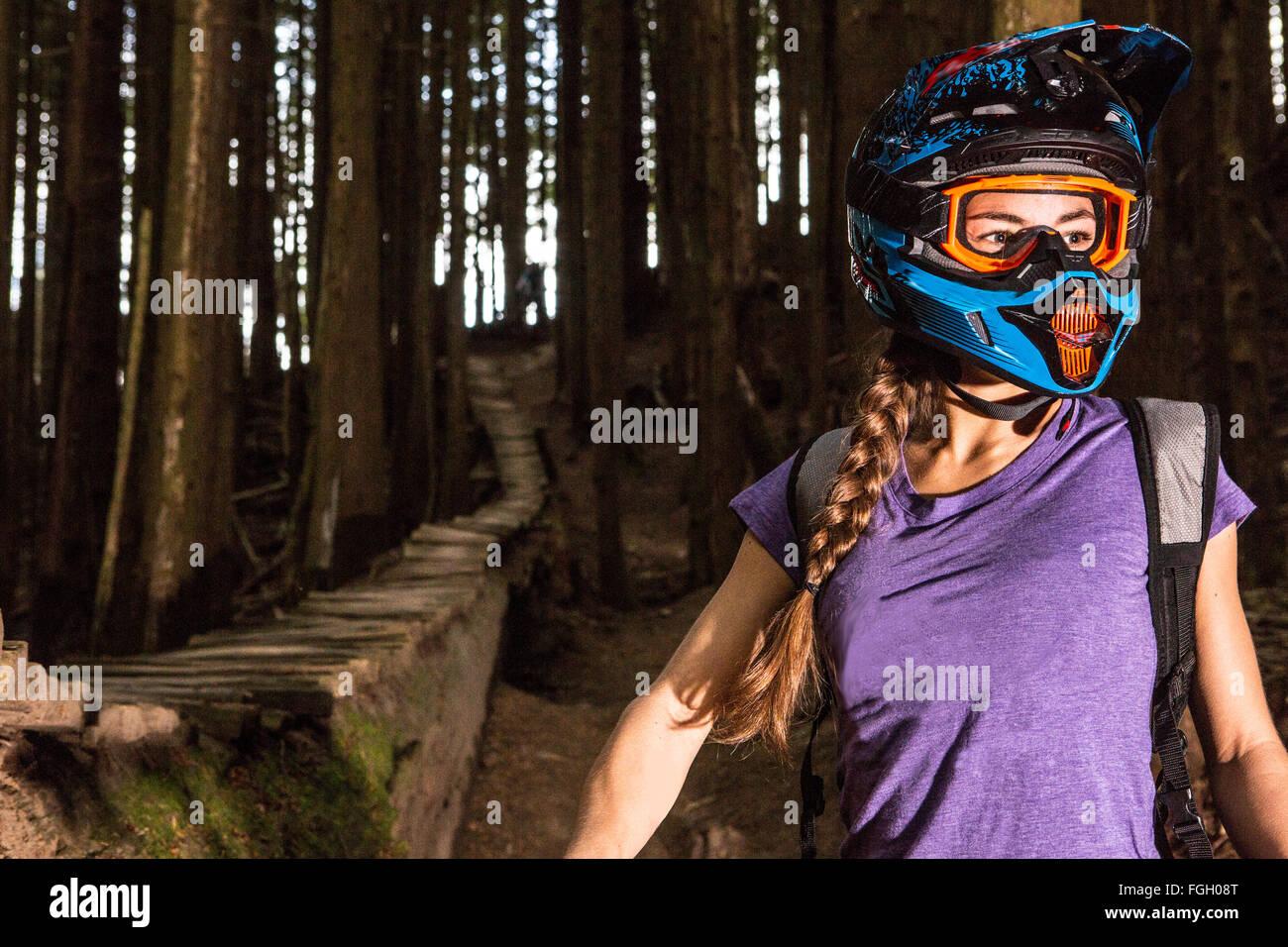 Mountain Biking - Stock Image