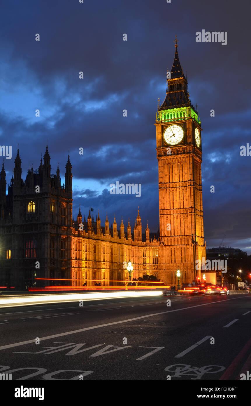 Big Ben, London, England - Stock Image