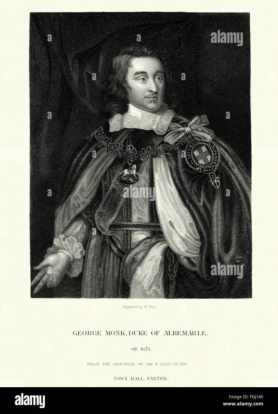 Portrait of George Monck, 1st ...