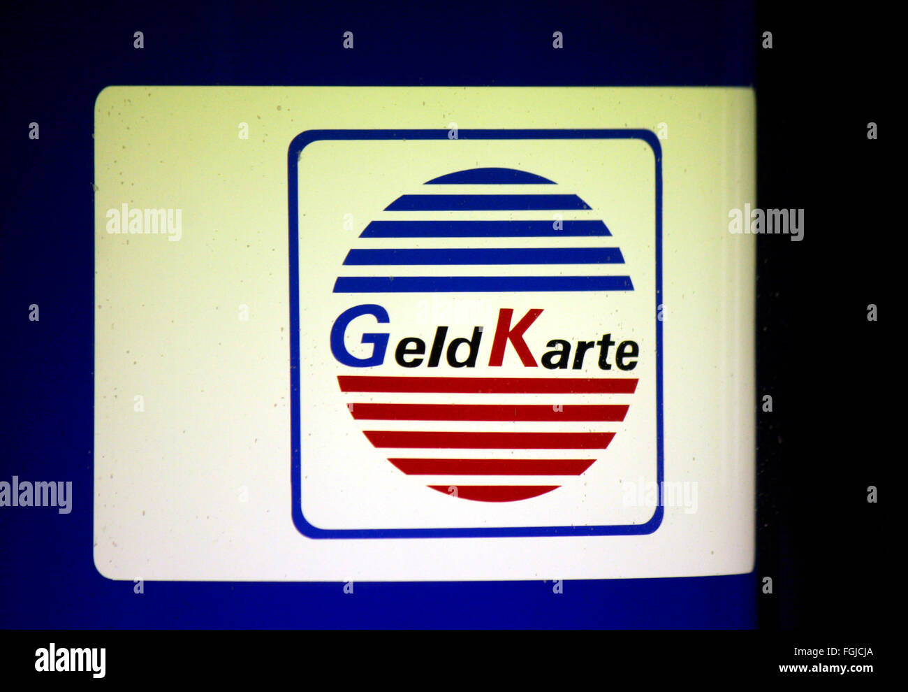 Markenname: 'Geld Karte', Berlin. - Stock Image