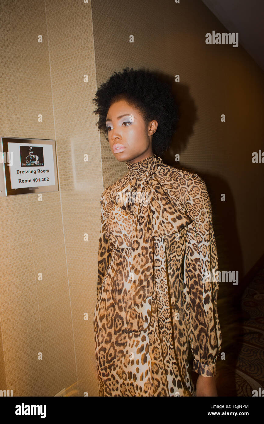 Fashion Week New York - Stock Image