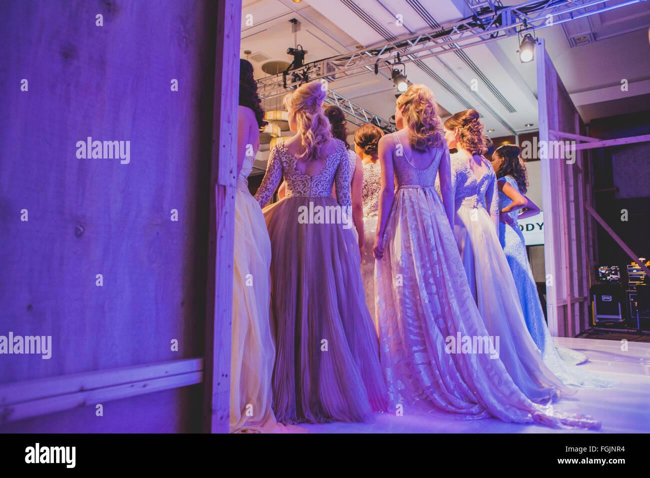 Fashion Week New York Stock Photo