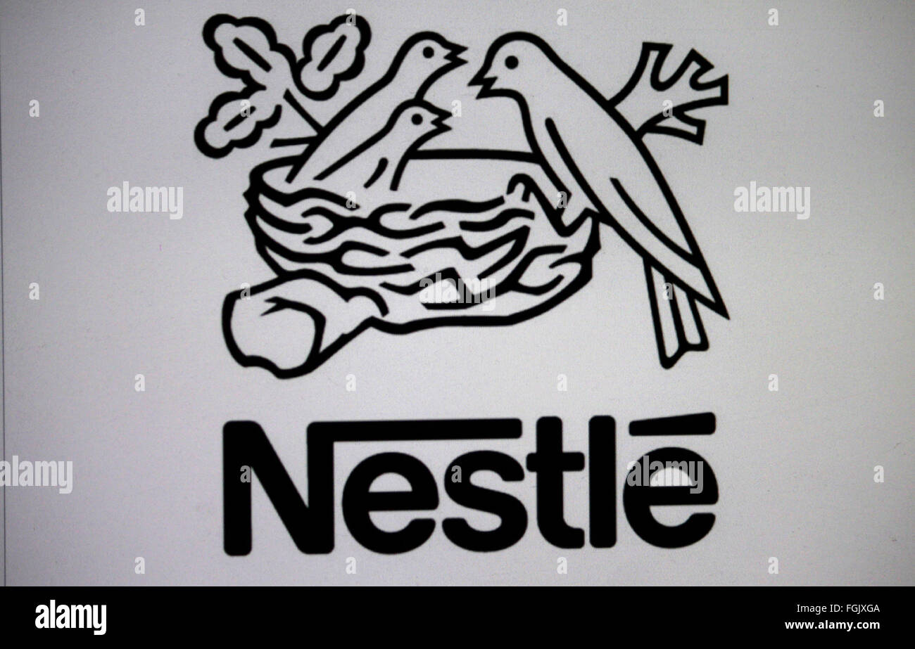 Markenname: 'Nestle', Berlin. - Stock Image