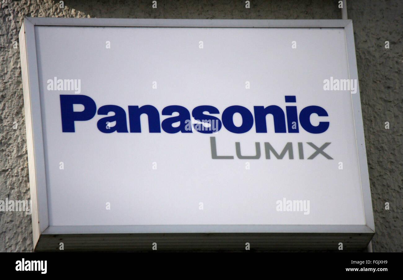 Markenname: 'Panasonic Lumix', Berlin. - Stock Image