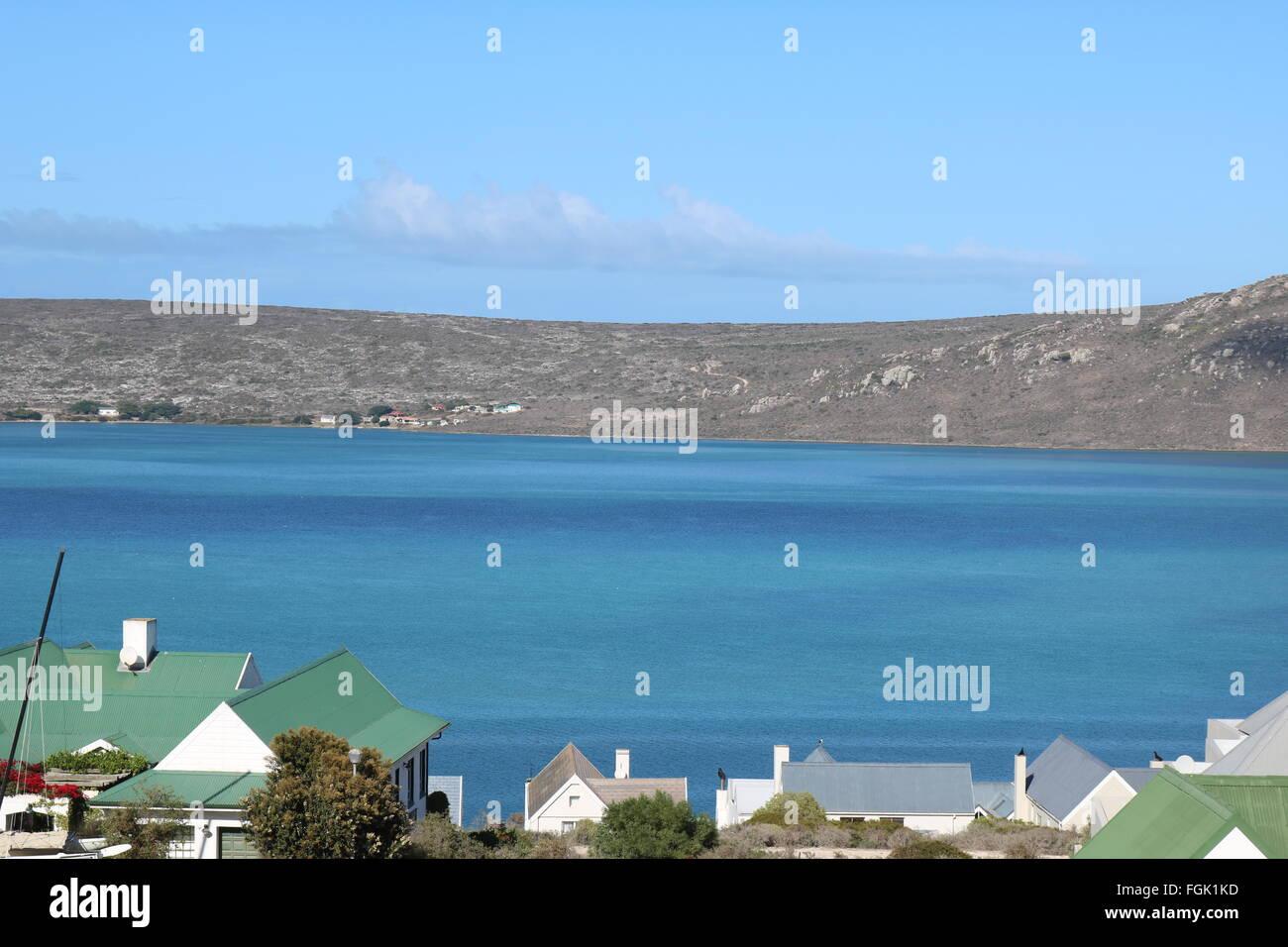 Langebaan Lagune, Western Cape, South Africa - Stock Image