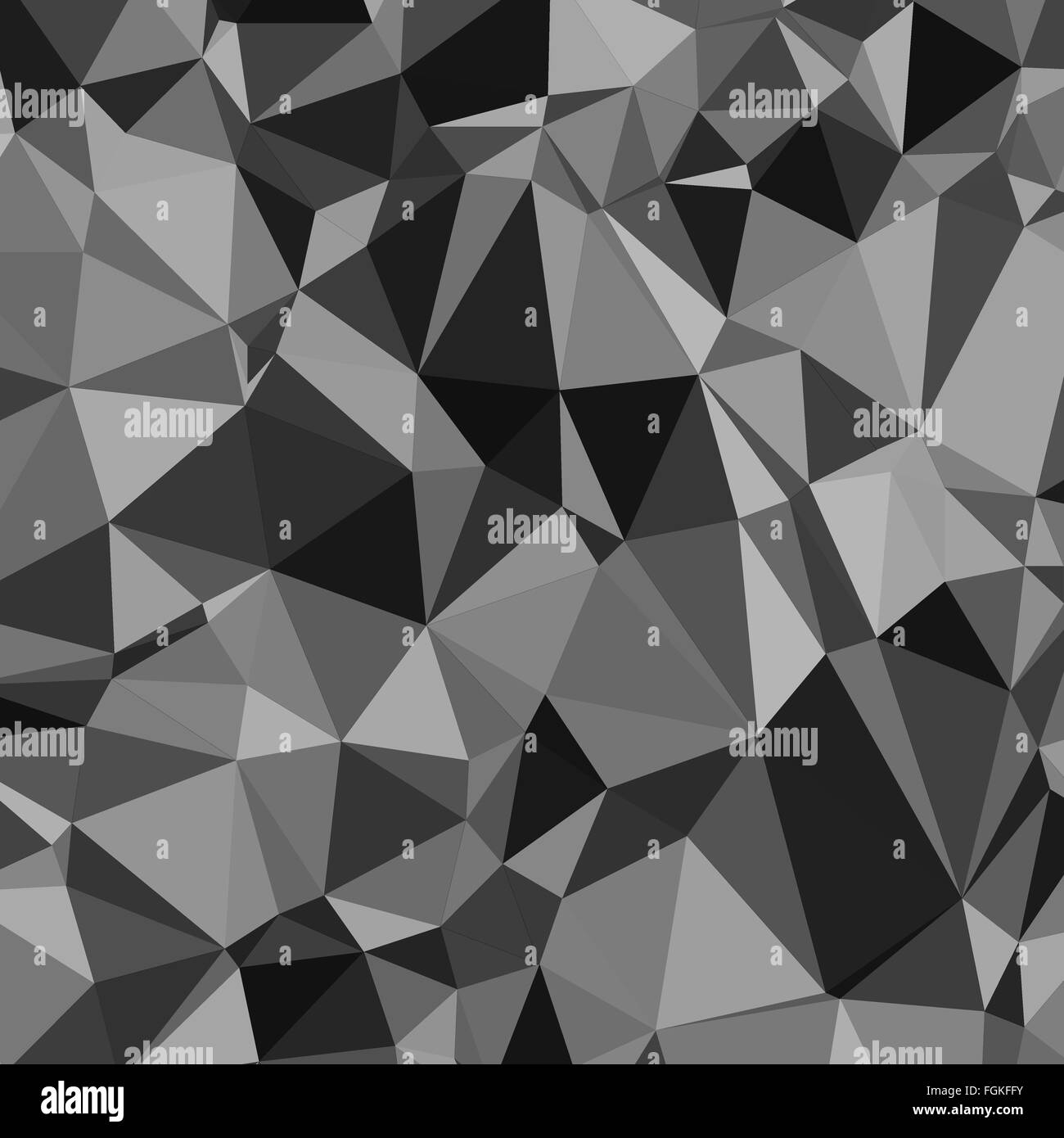 Abstract Black And White Triangle Pattern Wallpaper Background Design Stock Vector Image Art Alamy