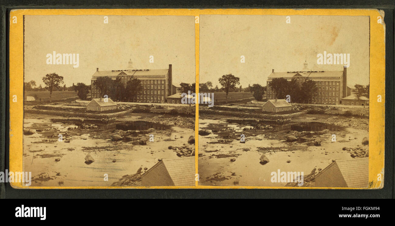 View of the Factory, by Hobbs, W. N. (William N.), 1830-1881 - Stock Image