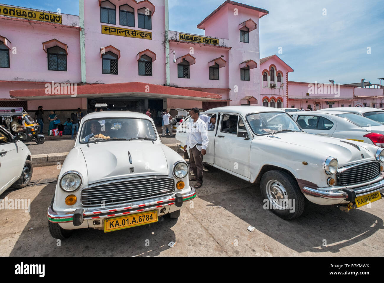 Hindustan Ambassador Classic Stock Photos & Hindustan