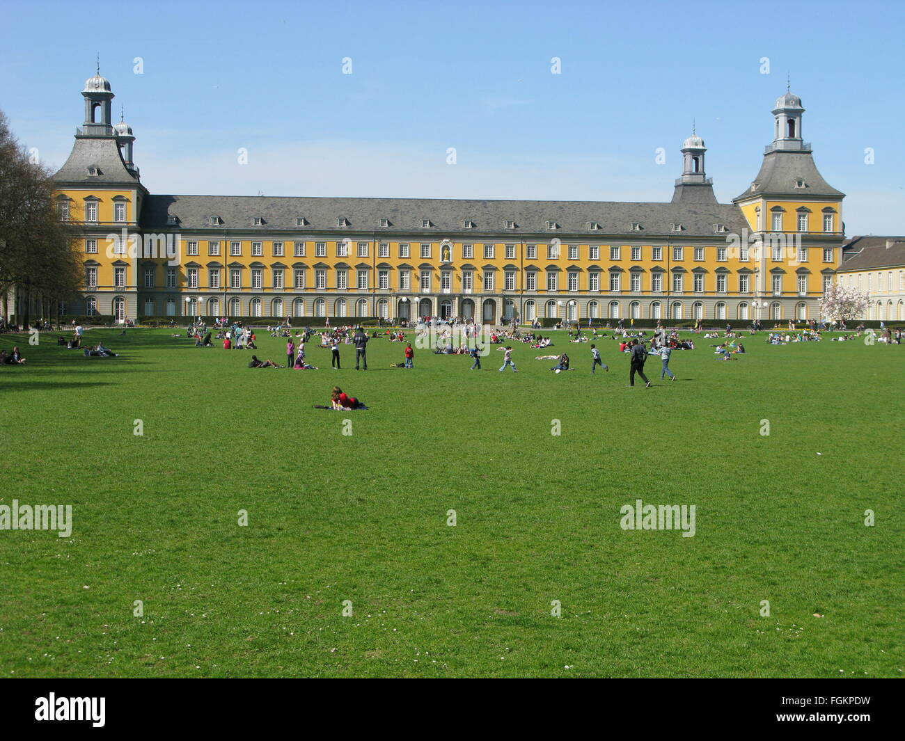 University, Bonn, Germany - Stock Image