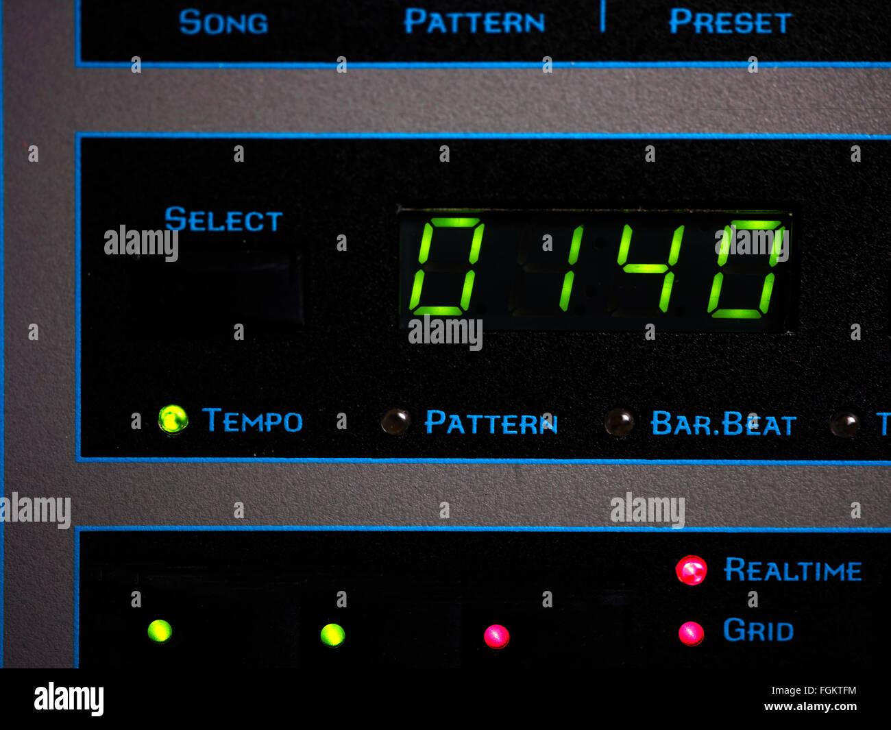 Beats Per Minute - Stock Image