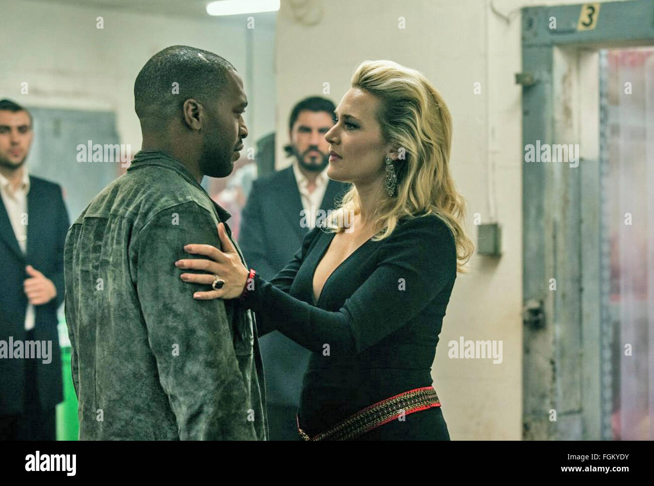 TRIPLE 9  2016 Open Road Films production  with Kate Winslet and Chiwetel Ejiofor - Stock Image