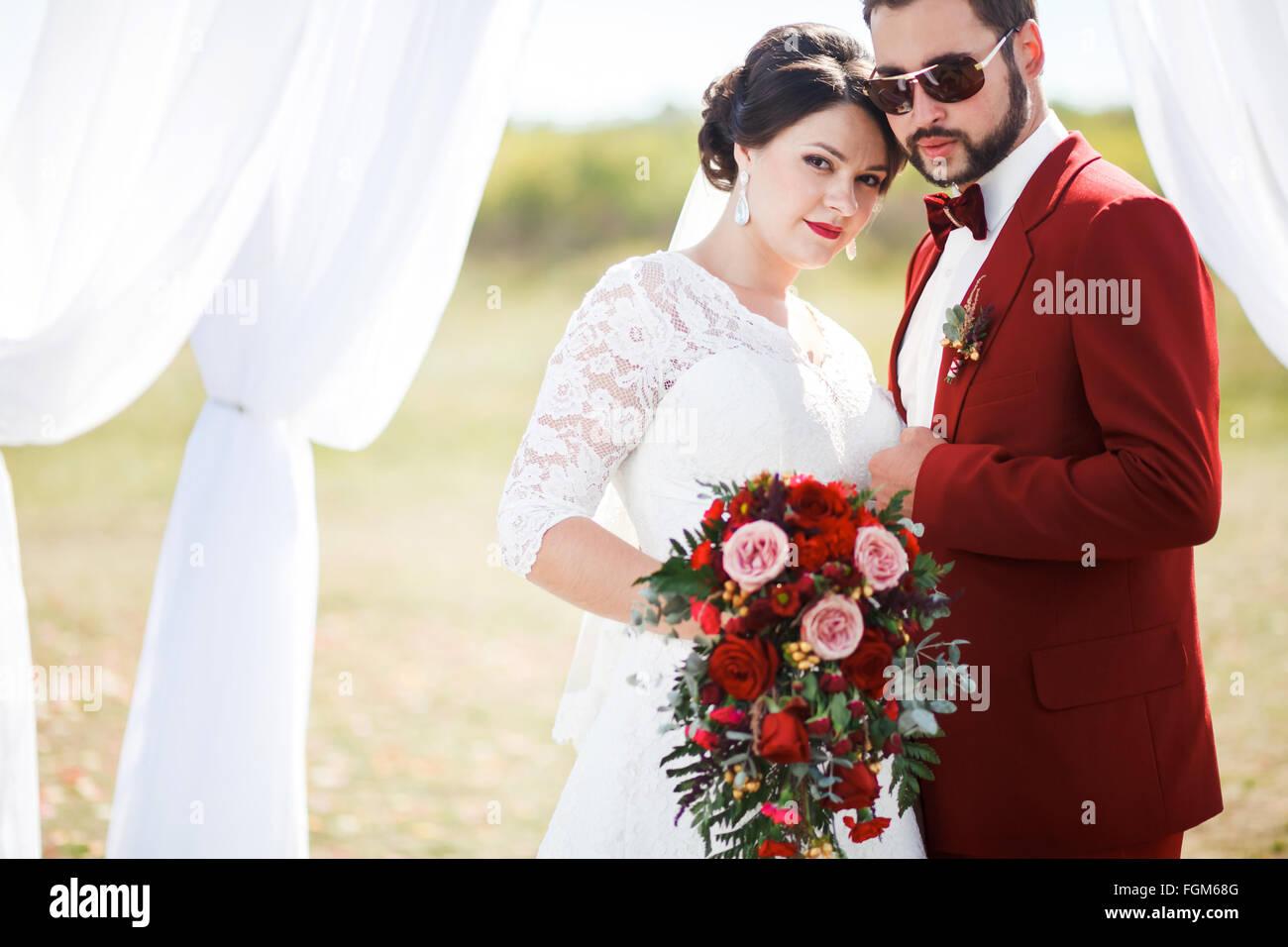 Extravagant Bride And Groom Lovely Couple Wedding Photo