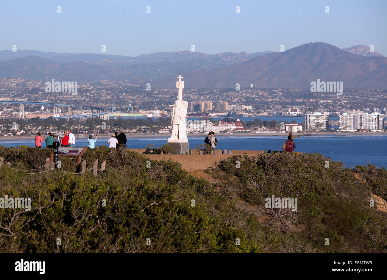 Cabrillo National Monument, Point Loma, California - Stock Image