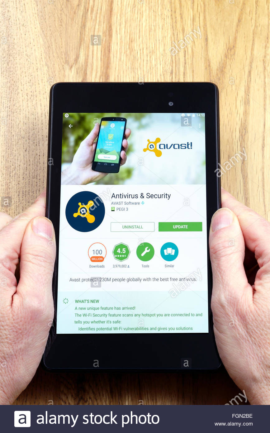 avast antivirus for tablets free download