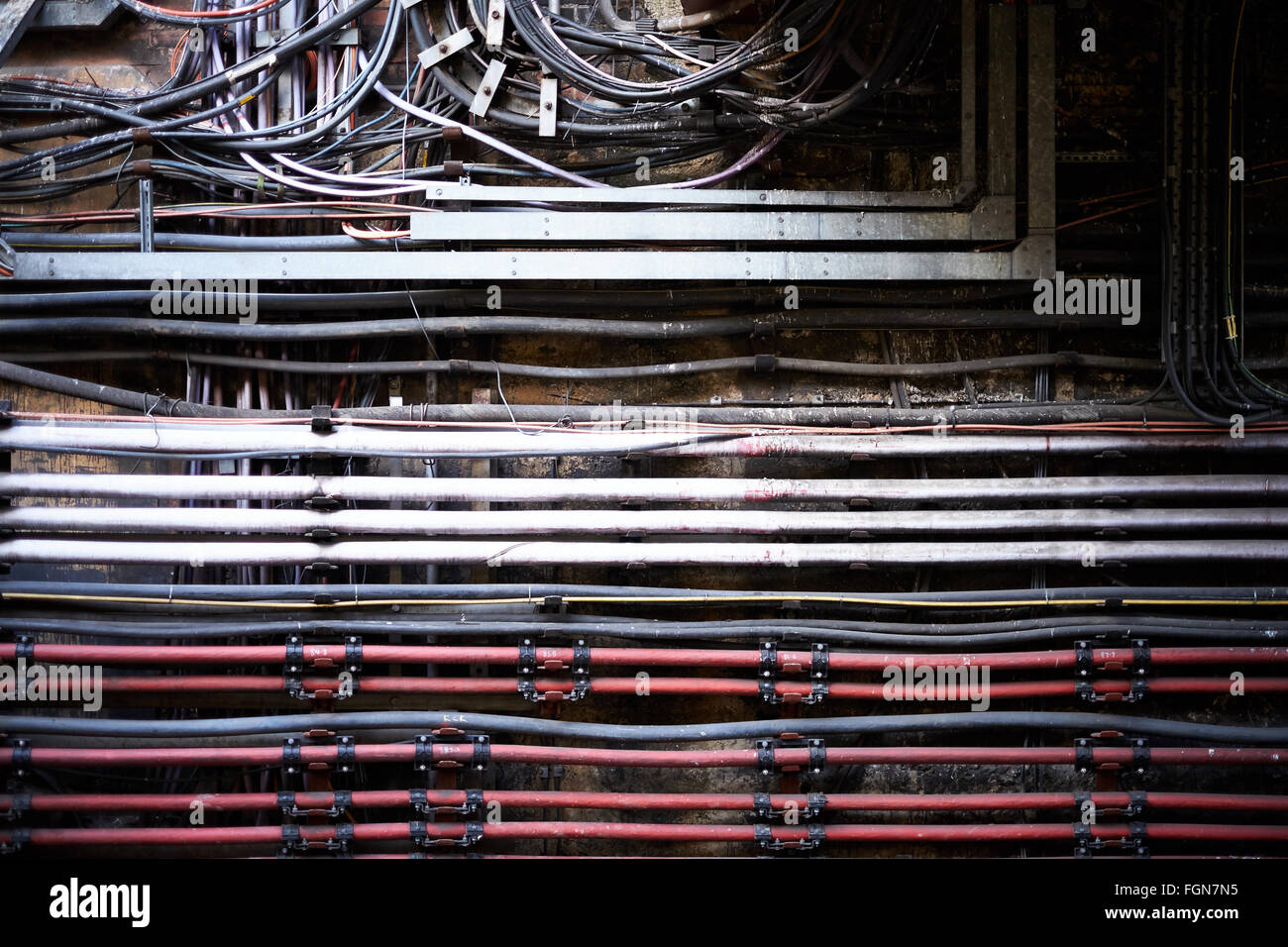 Wiring Duct Stock Photos & Wiring Duct Stock Images - Alamy
