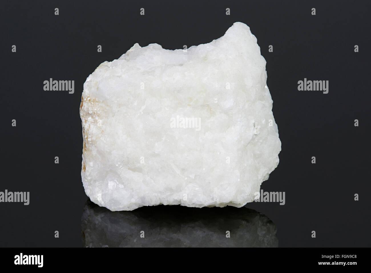 kieserite (magnesium sulfate mineral), Pakistan - Stock Image