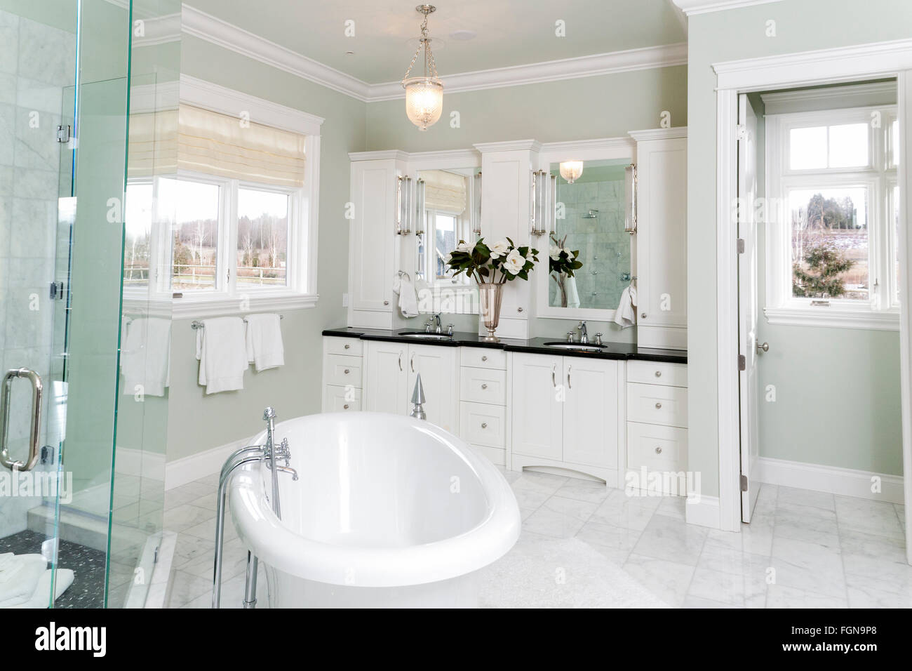 A High End Bathroom Stock Photo 96355008 Alamy