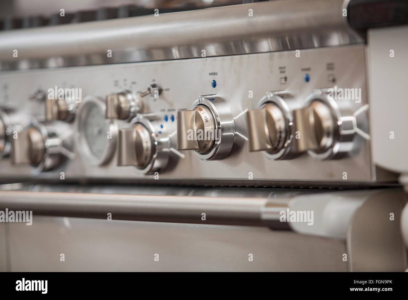 A high end kitchen range Stock Photo: 96355019 - Alamy