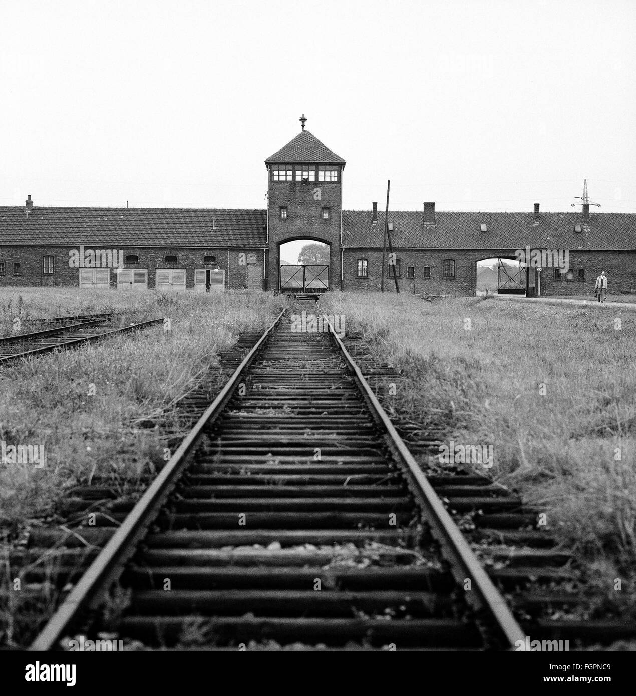 Nazism / National Socialism, crimes, concentration camps, KZ,  Auschwitz, Birkenau, 1970s, , Additional-Rights-Clearences - Stock Image