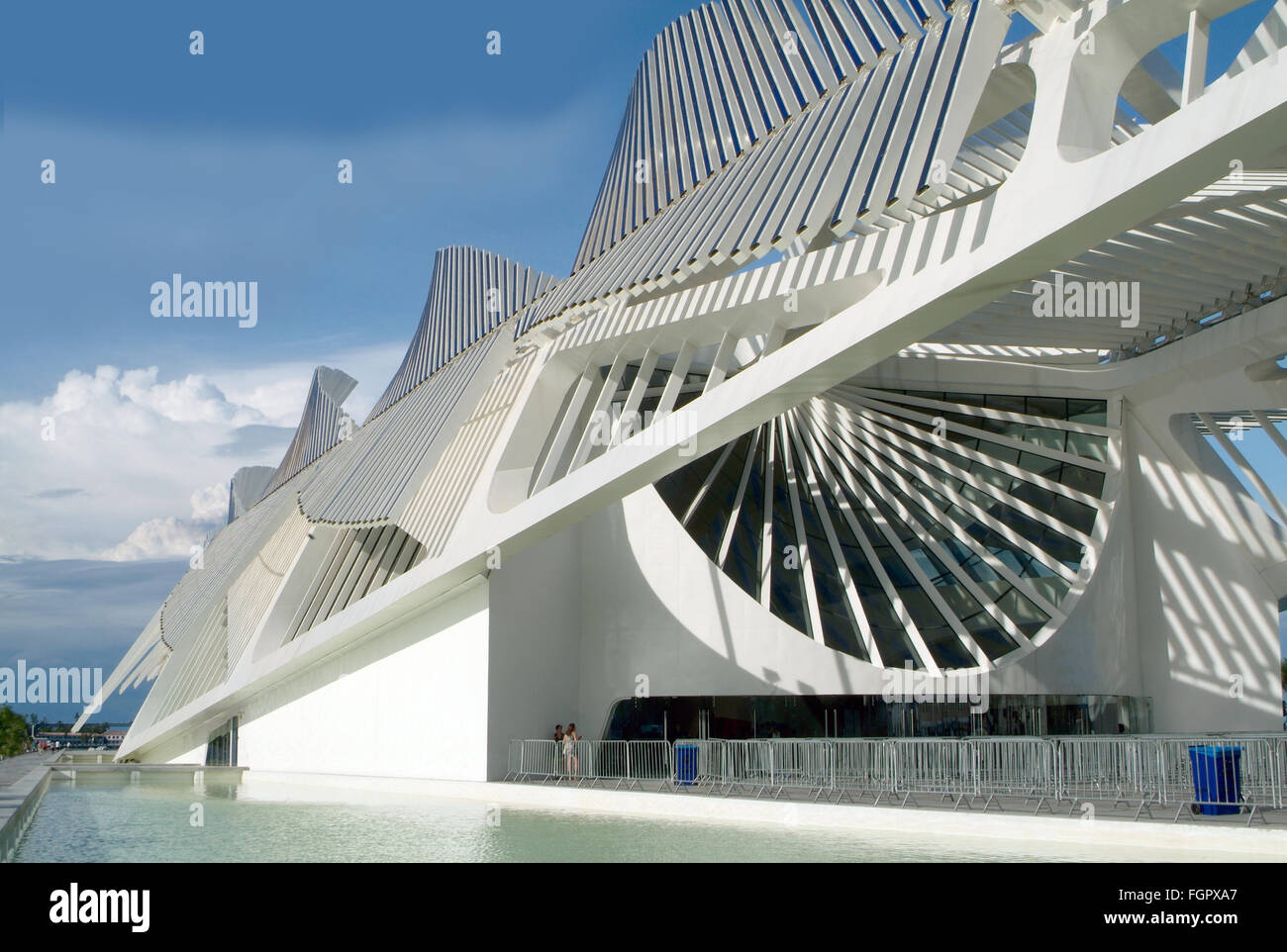 Rio de Janeiro, Brazil - Museum of Tomorrow - Stock Image