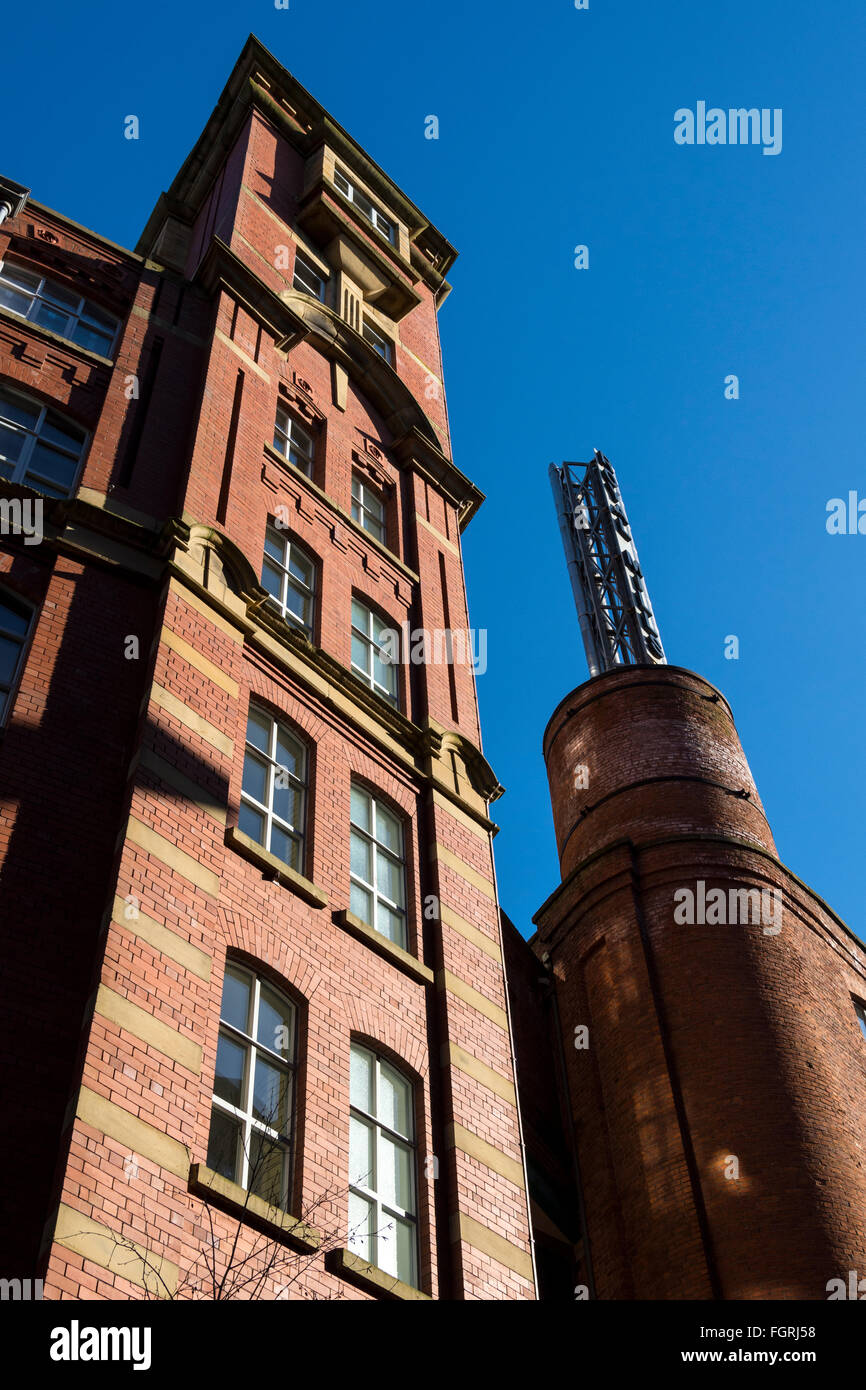 Paragon Mill, part of the refurbished Royal Mills complex, New Islington, Ancoats, Manchester, UK - Stock Image