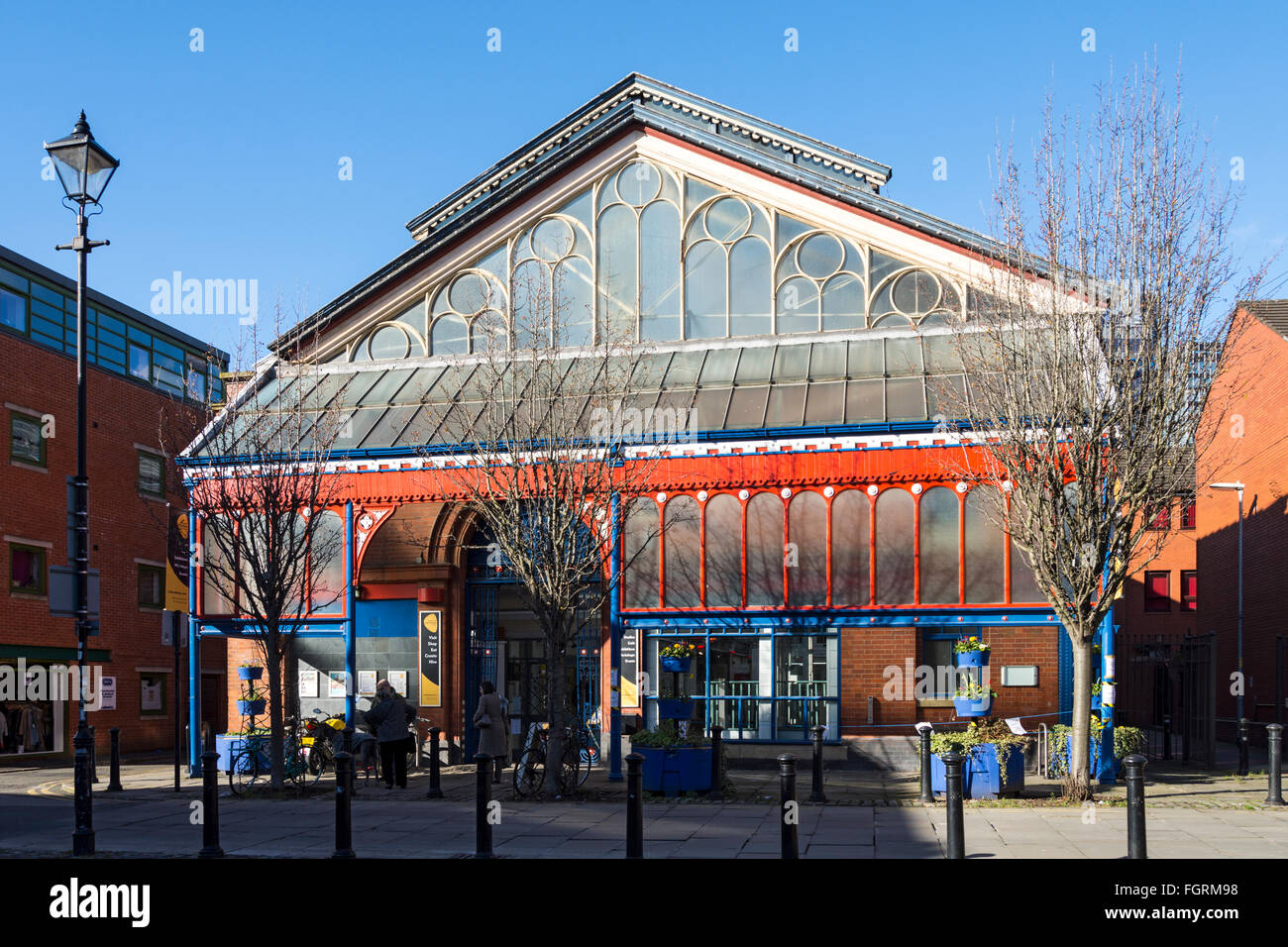 Manchester Craft and Design Centre, known as Manchester Craft Village, Oak Street, Northern Quarter, Manchester, - Stock Image