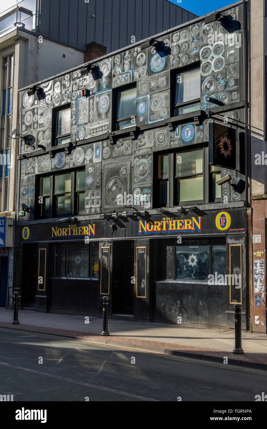 The Northern, a pub on Oldham Street, Northern Quarter, Manchester, England, UK - Stock Image