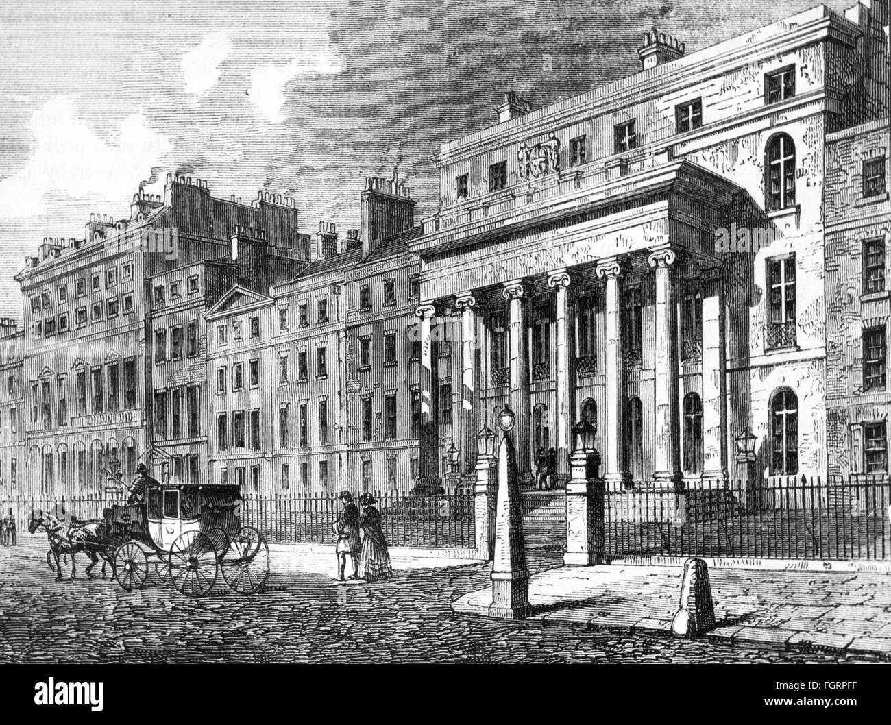 geography / travel, Great Britain, London, building, Royal College of Surgeons of England, exterior view, built - Stock Image