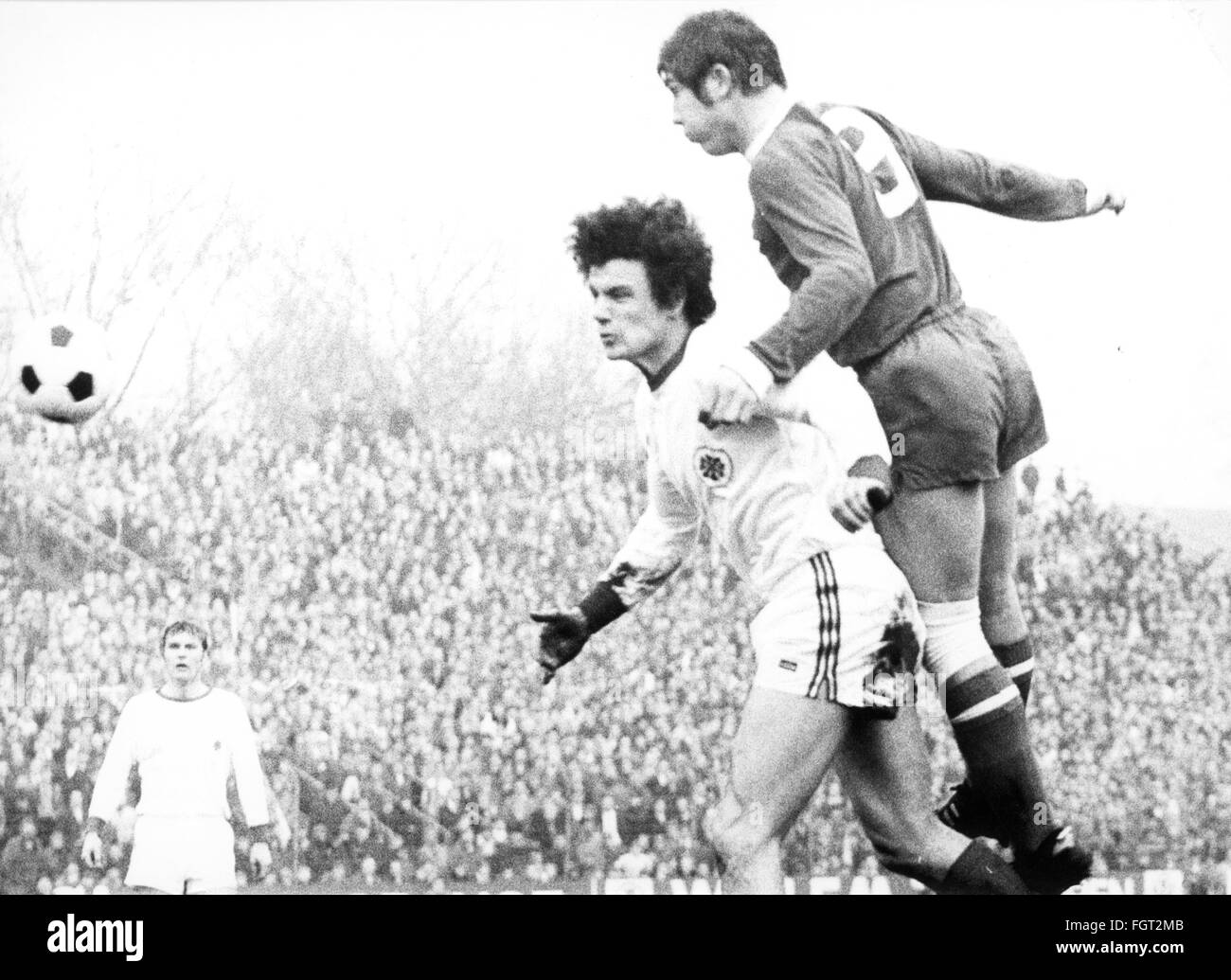 sports, football, games Germany, national league, season 1970 / 1971, 14th match day, game FC Schalke 04 versus - Stock Image