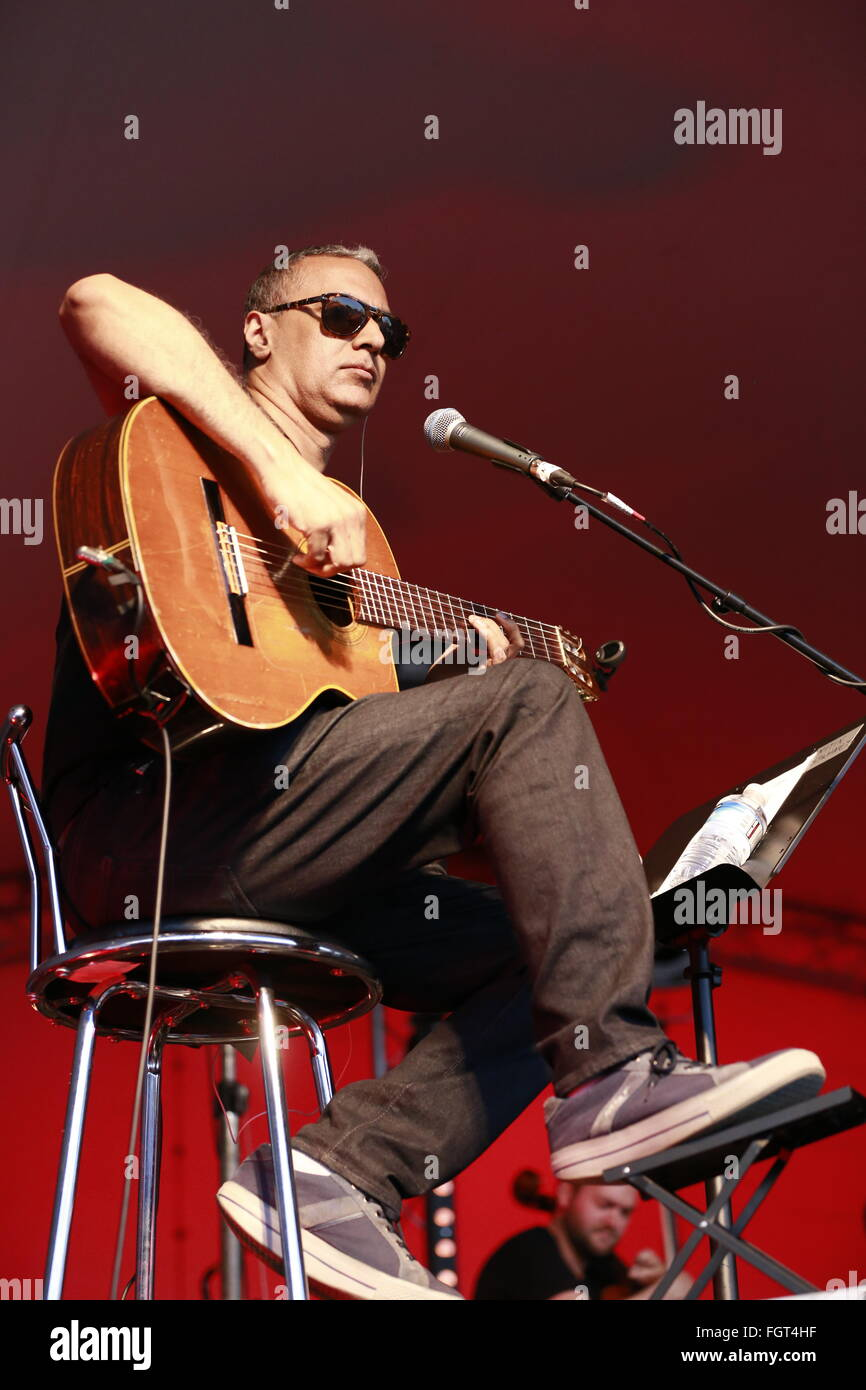 Nitin Sawhney, Village Green Music and Arts Festival, Southend-on-Sea, Essex © Clarissa Debenham / Alamy Stock Photo